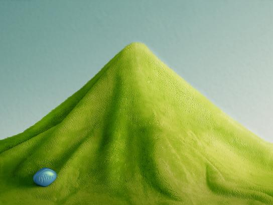 Viagra Print Ad -  Mountain, 1