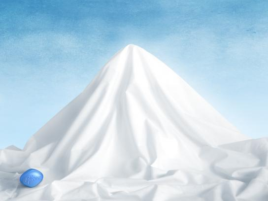 Viagra Print Ad -  Mountain, 3