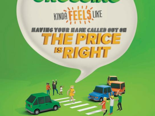 VicRoads Print Ad -  Share the road, 2