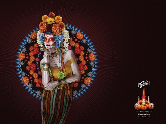 Victoria Print Ad -  Day of the Dead, 4