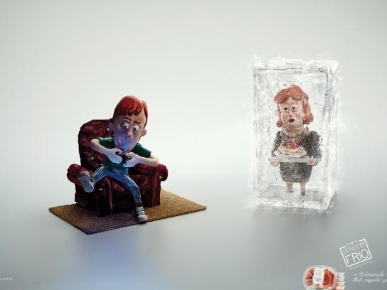 Bendito Frio Print Ad -  Boy