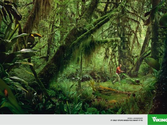 Viking Print Ad -  Jungle