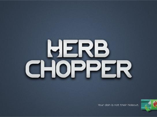 Vim Print Ad -  Herb chopper