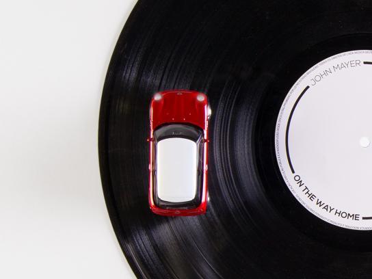Mini Print Ad -  Vinyl
