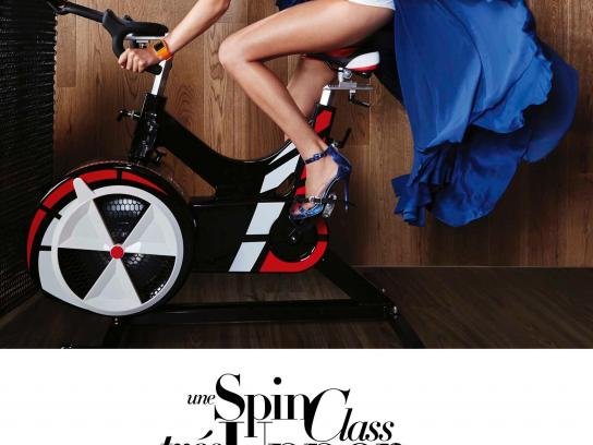 Virgin Active Print Ad -  Bike