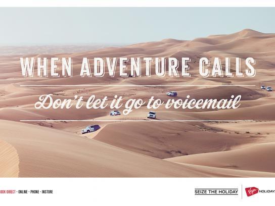 Virgin Holidays Print Ad - Desert