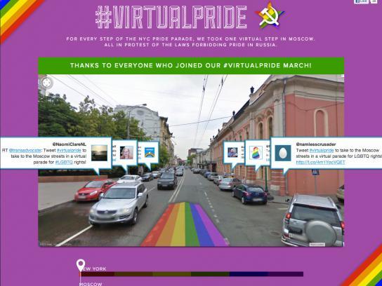 NYC Pride Digital Ad -  Virtual Pride Day