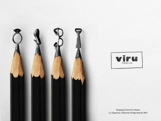 Viru Keskus Outdoor Ad - First, concept. Then, design.