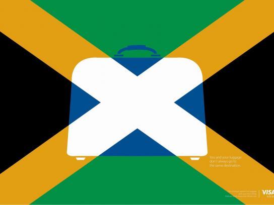 Visa Print Ad - Jamaica/Scotland