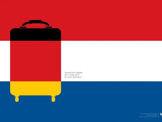 Visa Print Ad - Germany/Netherlands