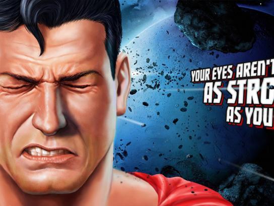 Visine Print Ad -  Superheroes, 1