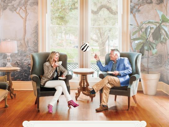 Visit Savannah Print Ad - Hamilton-Turner Inn