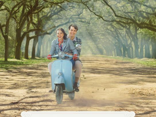 Visit Savannah Print Ad - Wormsloe