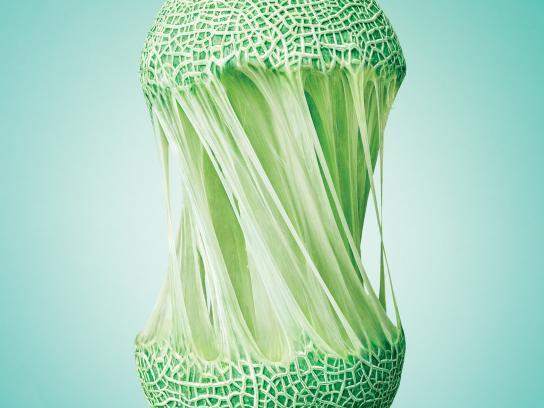 Viva Nutrition Print Ad - Melon