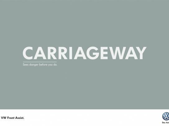 Volkswagen Print Ad -  Carriageway