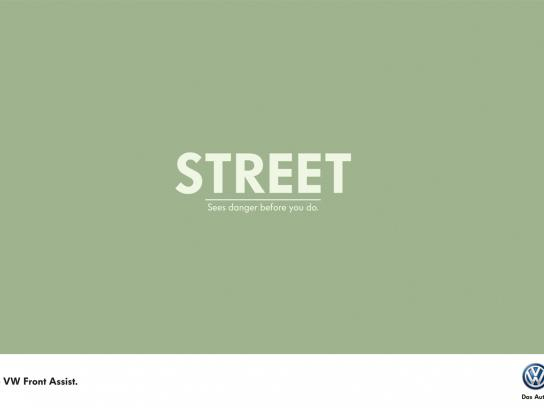 Volkswagen Print Ad -  Street