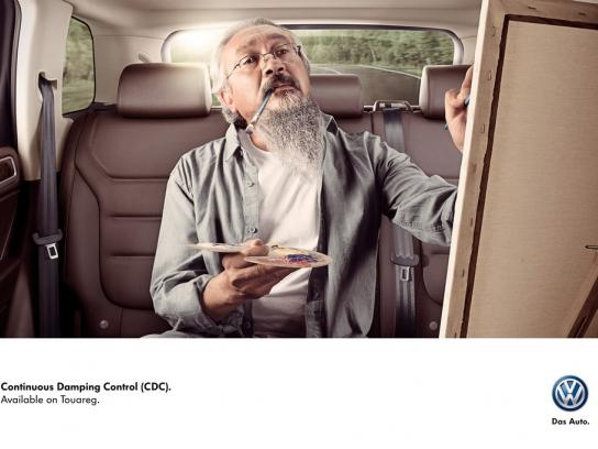 Volkswagen Print Ad -  Painter
