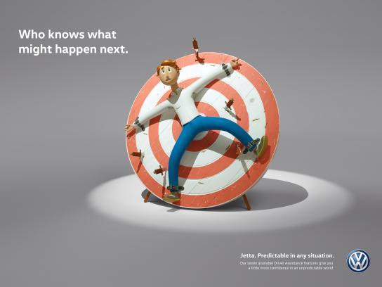 Volkswagen Print Ad - Knives