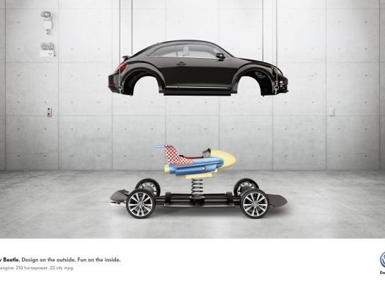 Volkswagen Print Ad -  Fun