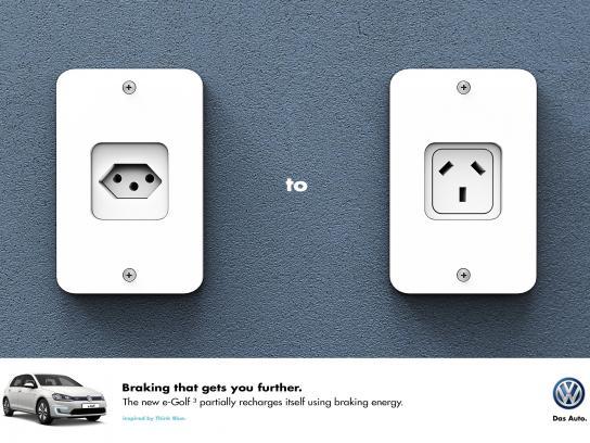 Volkswagen Print Ad -  Brazil to Argentina