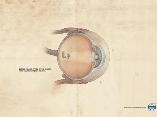 Volvo Print Ad -  Child