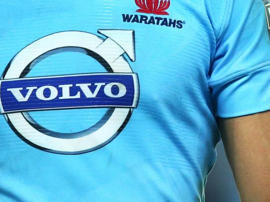 Volvo Print Ad -  Proud sponsor of these guys