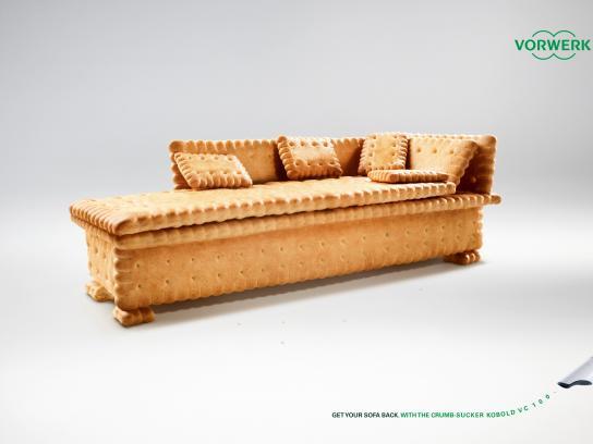 Vorwerk Print Ad -  Get your sofa back, 2