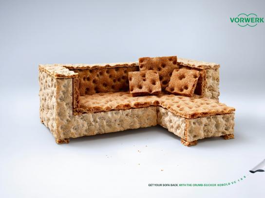 Vorwerk Print Ad -  Get your sofa back, 3