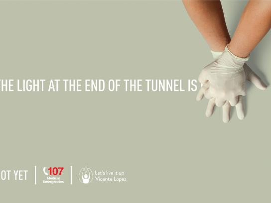 SAME Print Ad - At the end of the tunnel
