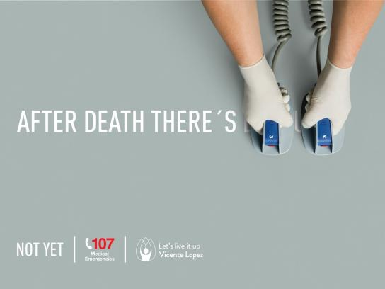 SAME Print Ad - After death