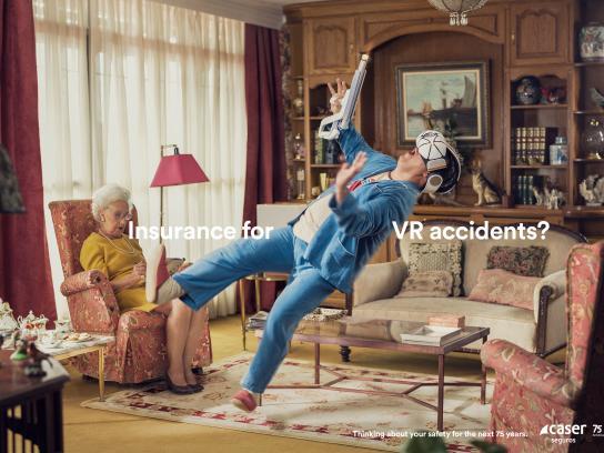 Caser Seguros Print Ad - VR