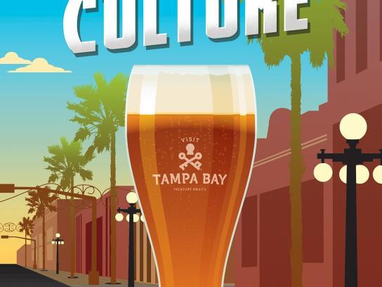 Visit Tampa Bay Print Ad -  Craft culture