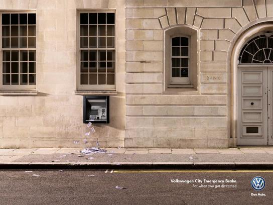 Volkswagen Print Ad -  ATM