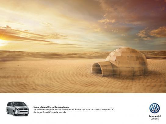 Volkswagen Print Ad -  Igloo