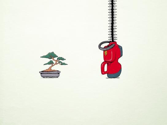 Volkswagen Print Ad -  Bonsai