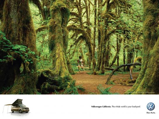 Volkswagen Outdoor Ad -  Backyard, 1