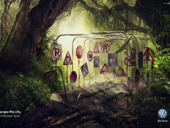 Volkswagen Print Ad -  Cage