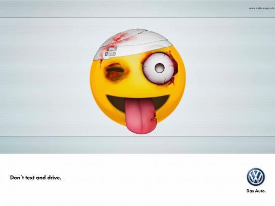 Volkswagen Print Ad -  Tongue