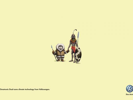 Volkswagen Print Ad -  Eskimo