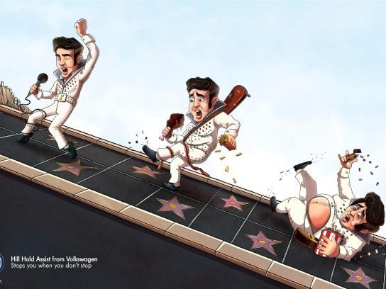 Volkswagen Print Ad -  Elvis