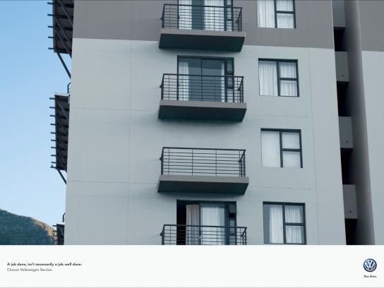Volkswagen Print Ad -  Balcony