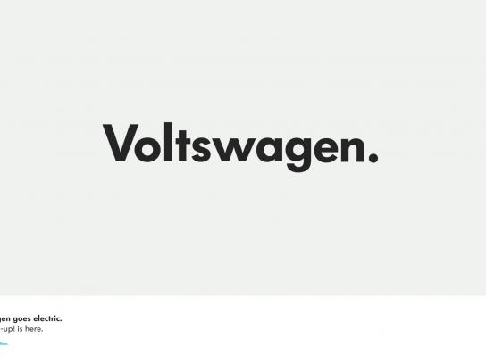Volkswagen Print Ad -  Voltswagen
