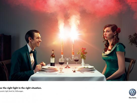 Volkswagen Print Ad -  Date