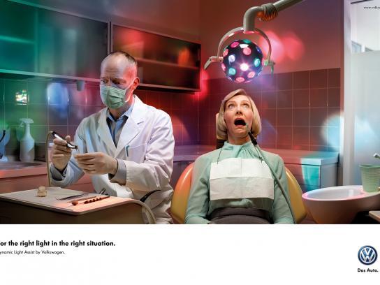 Volkswagen Print Ad -  Dentist