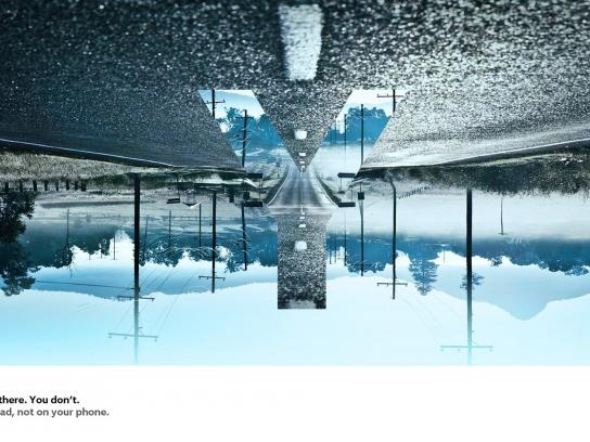 Volkswagen Print Ad -  Y