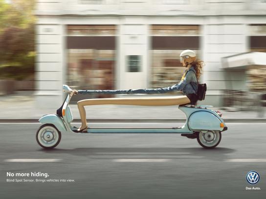 Volkswagen Print Ad -  No more hiding, 1