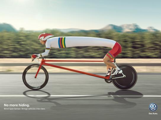 Volkswagen Print Ad -  No more hiding, 2