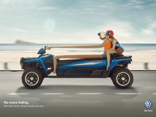 Volkswagen Print Ad -  No more hiding, 3
