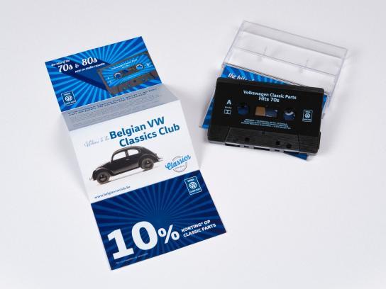 Volkswagen Digital Ad -  Comeback of the music cassette