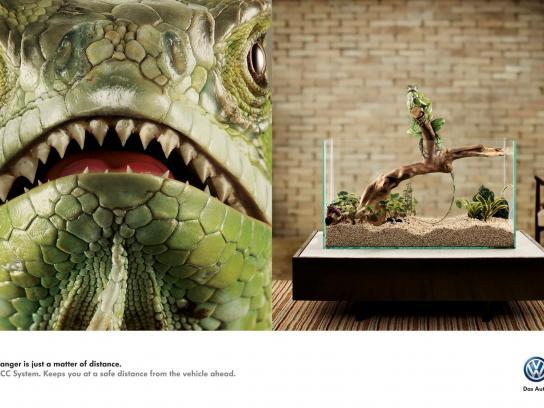 Volkswagen Print Ad -  Iguana
